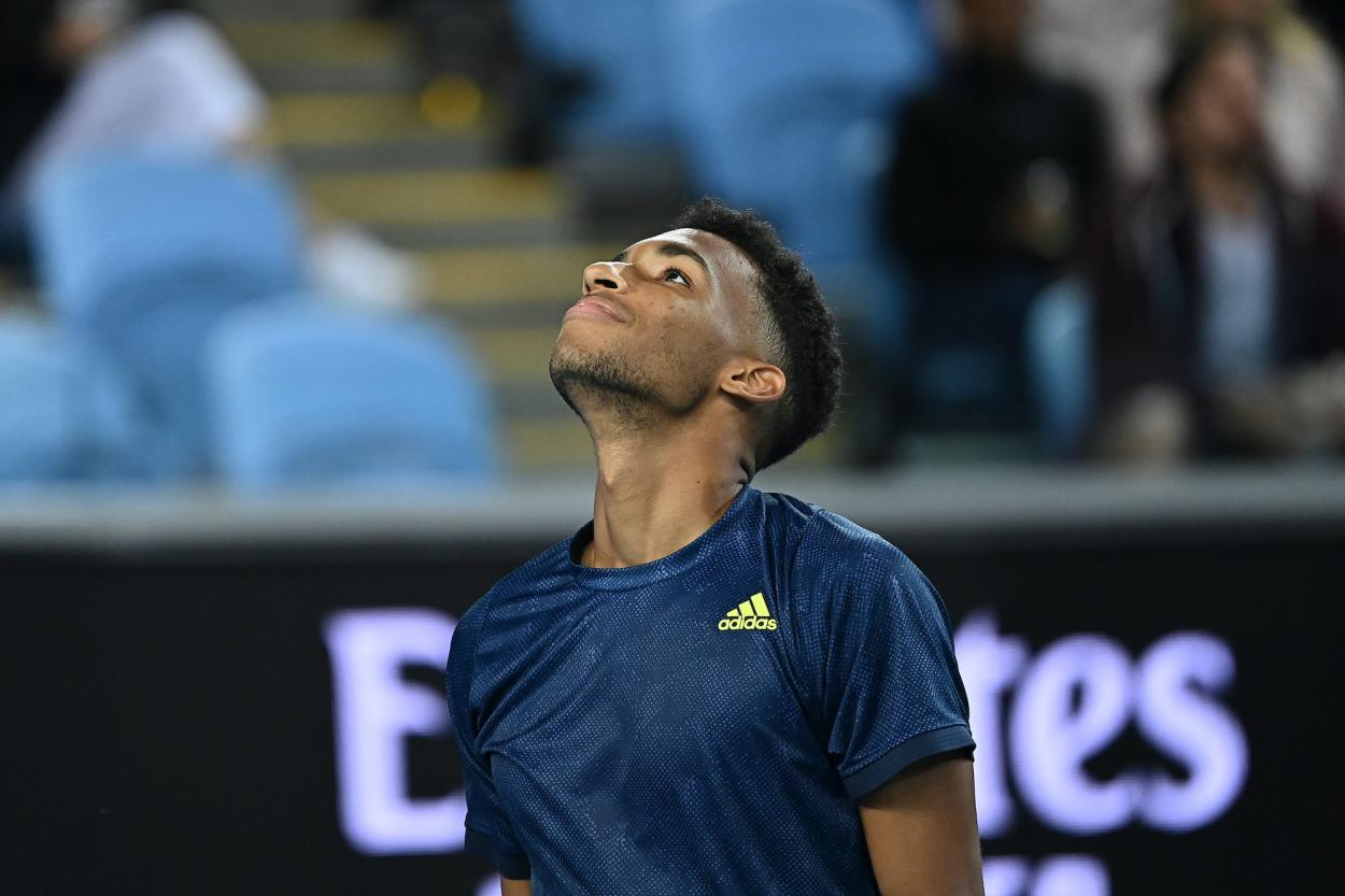 Auger-Aliassime let a golden opportunity to reach his first career major quarterfinal slip through his fingers/Photo: Peter Staples/ATP Tour