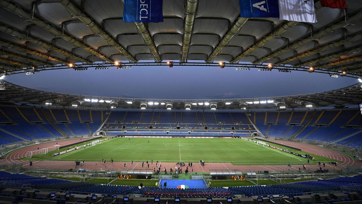 Stadio Olimpico di Roma, hogar de la Lazio y AS Roma. /Twitter: Bayern Múnich Español oficial