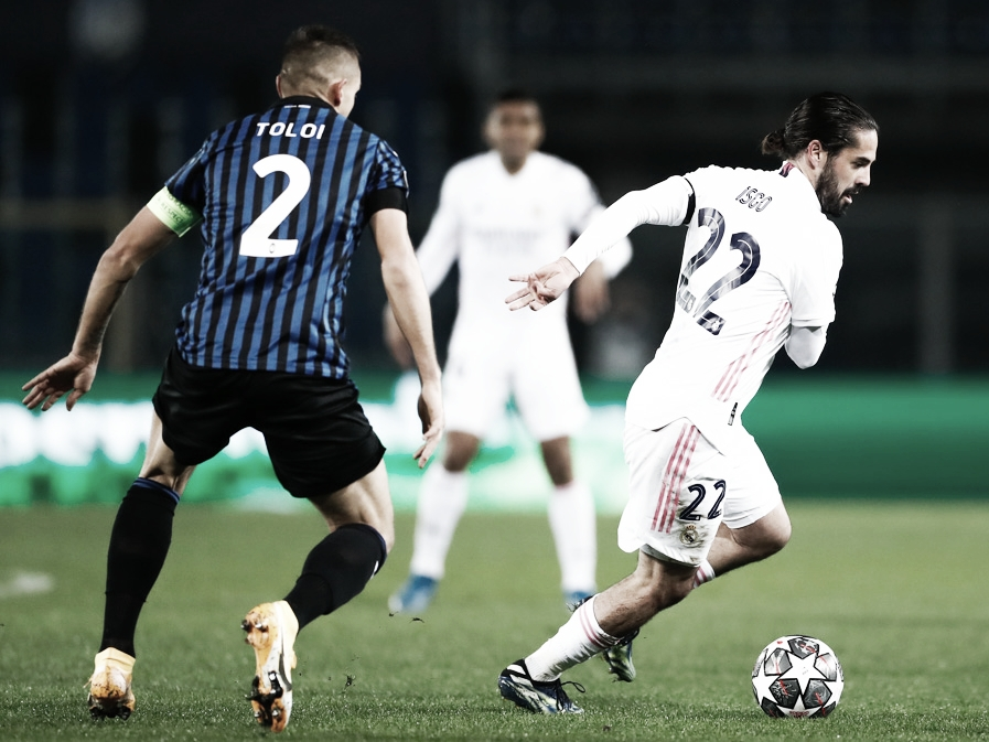 Isco intentó suplir la ausencia de Benzema   Foto: Real Madrid