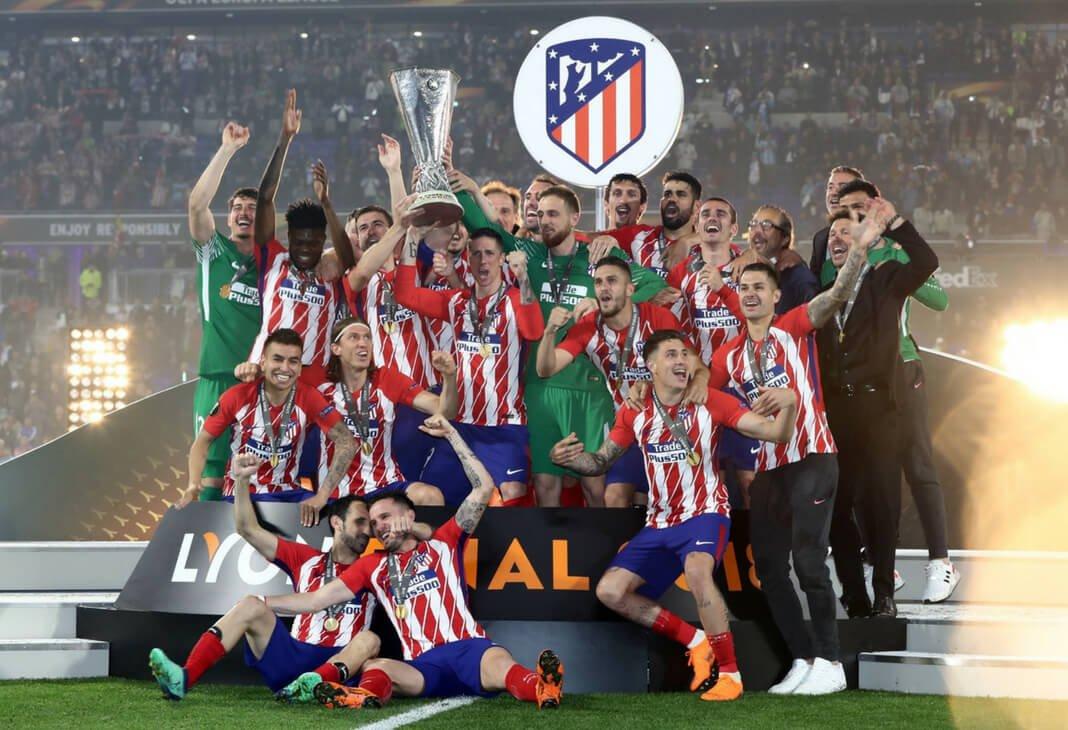 El Atlético de Madrid consiguió alzarse con el título de la Europa League tras vencer al Marsella. /Twitter: Atlético de Madrid oficial