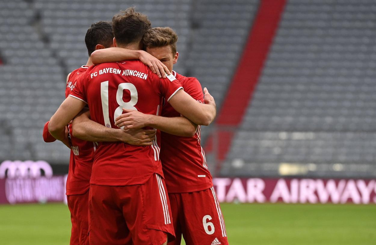 El Bayern Múnich viene de golear 5-1 en el Allianz Arena. / Twitter: Bayern Múnich oficial