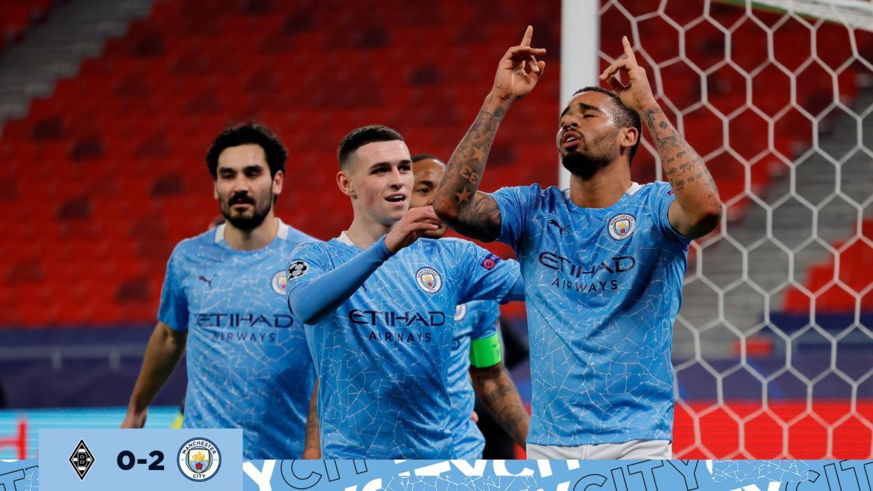 Silva y Gabriel Jesús fueron los encargados de sentenciar el partido de ida. /Twitter: Manchester City oficial