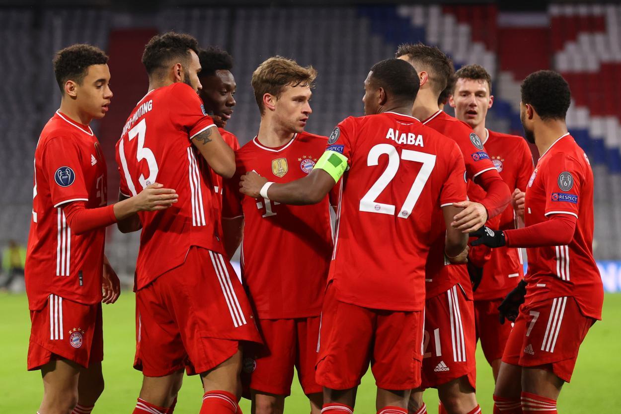 El Bayern Múnich consiguió su pase a los cuartos por 19° vez en su historia. /Twitter: Bayern Múnich oficial