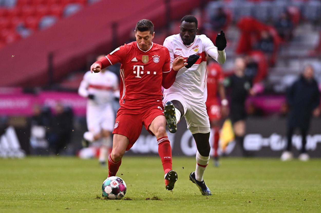 Segundo tiempo más parejo. /Twitter: Bayern Múnich oficial