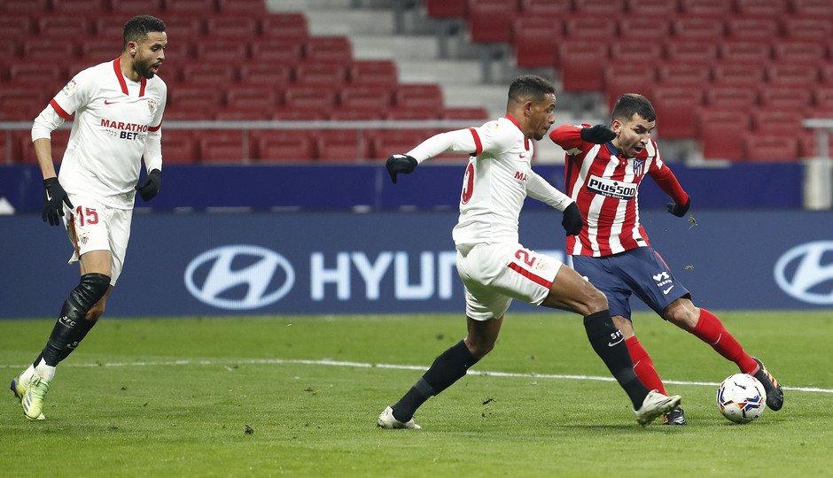 El Sevilla, el primer rival del equipo colchonero. /Twitter: Atlético de Madrid oficial