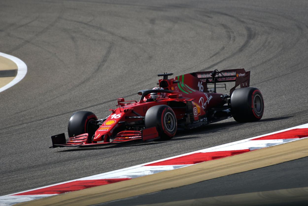Leclerc. Foto: F1
