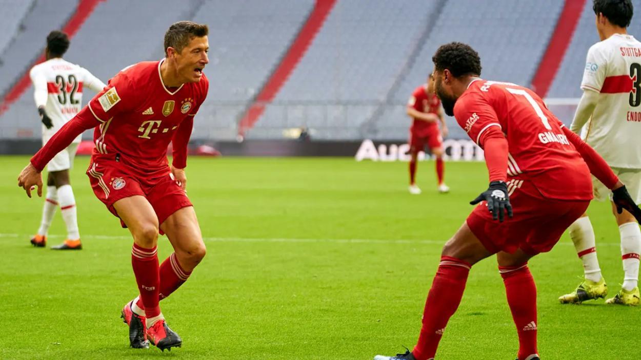 Robert Lewandowski marcó un hat trick en dicho enfrentamiento. /Twitter: Bayern Múnich oficial