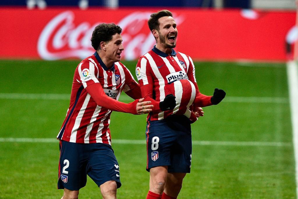 En el duelo de la ida ganó el equipo colchonero. /Twitter: Atlético de Madrid oficial