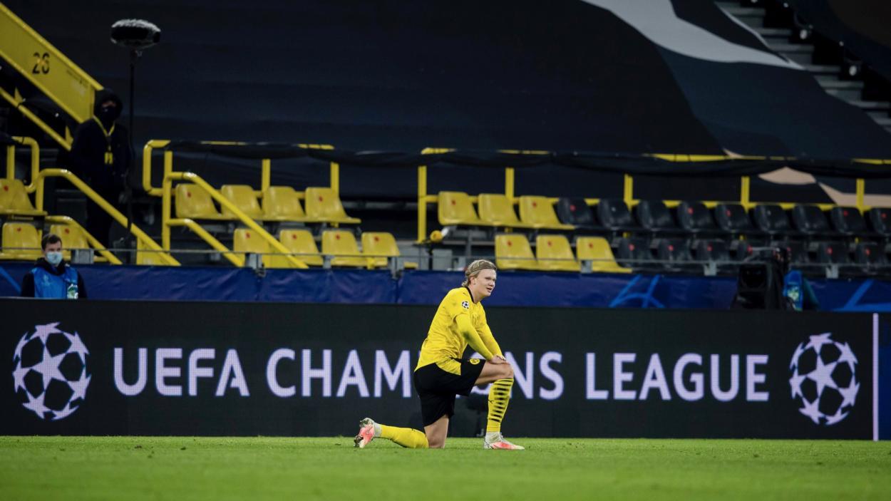 Erling Haaland buscará romper un nuevo récord. /Twitter: Borussia Dortmund oficial
