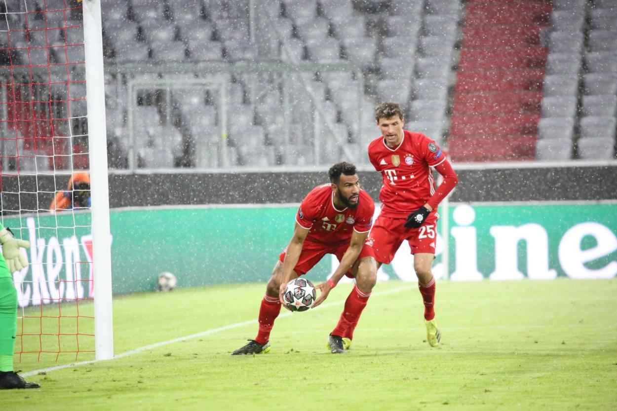 Choupo-Moting consiguió el empate para el Bayern Múnich. /Twitter: Bayern Múnich oficial