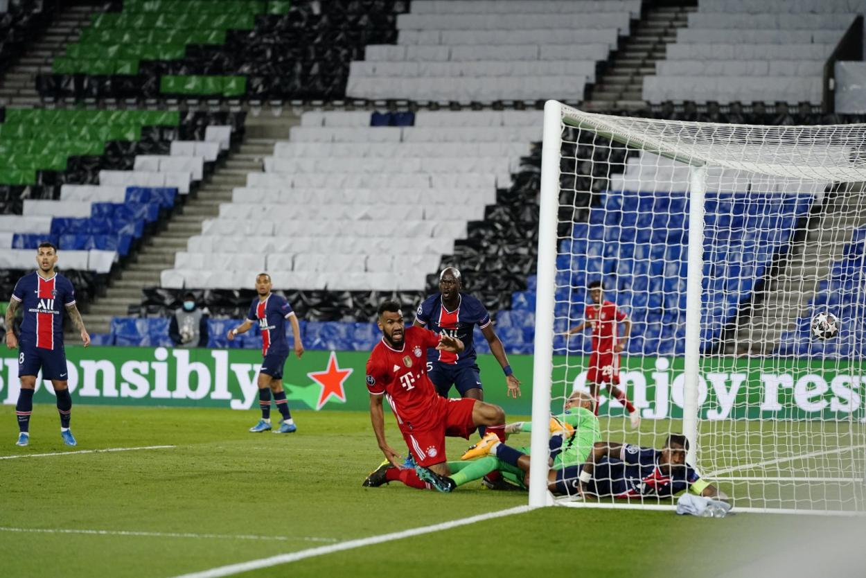 Choupo-Moting abrió el marcador al minuto 40 del partido. /Twitter: Bayern Múnich oficial