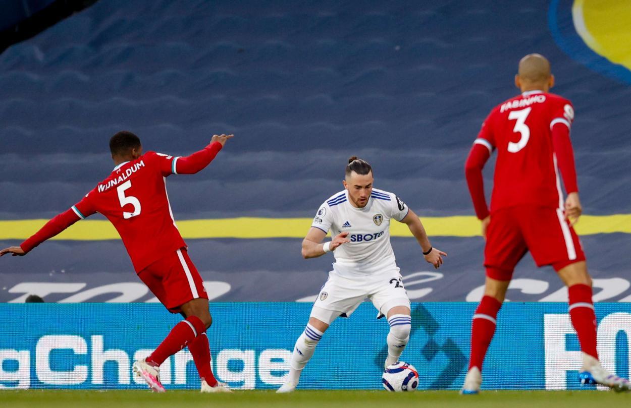 Harrison controlando el balón / FOTO: Premier League