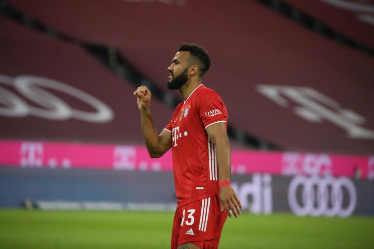 Choupo-Moting fue el encargado de marcar el primero para el conjunto bávaro. /Twitter: Bayern Múnich oficial