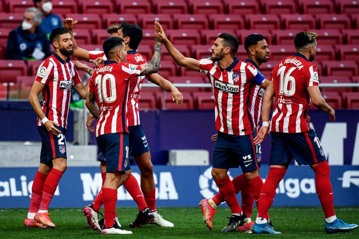 El Atlético de Madrid buscará la victoria si quiere seguir peleando por el título. /Twitter: Atlético de Madrid oficial