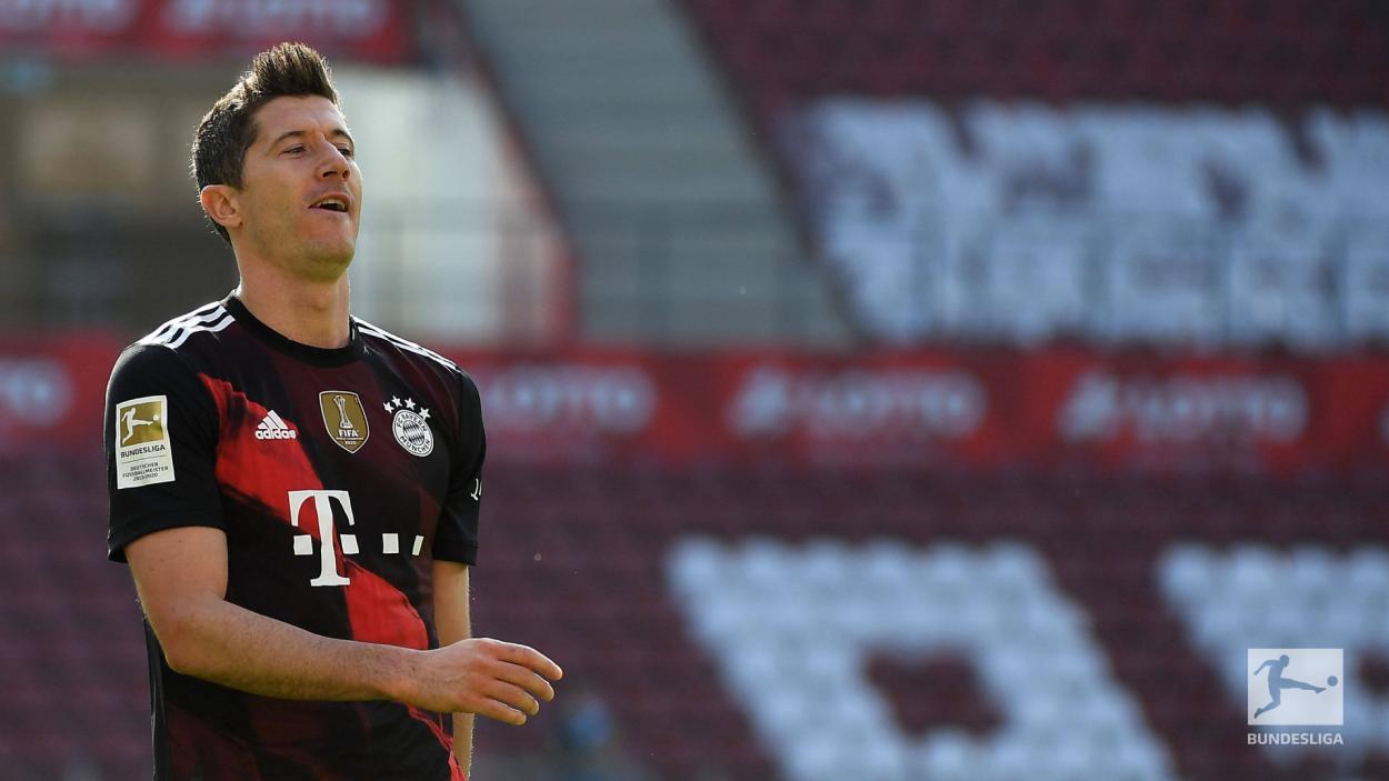 Lewandowski marcó en su vuelta a las canchas./Twitter: Bayern Múnich oficial