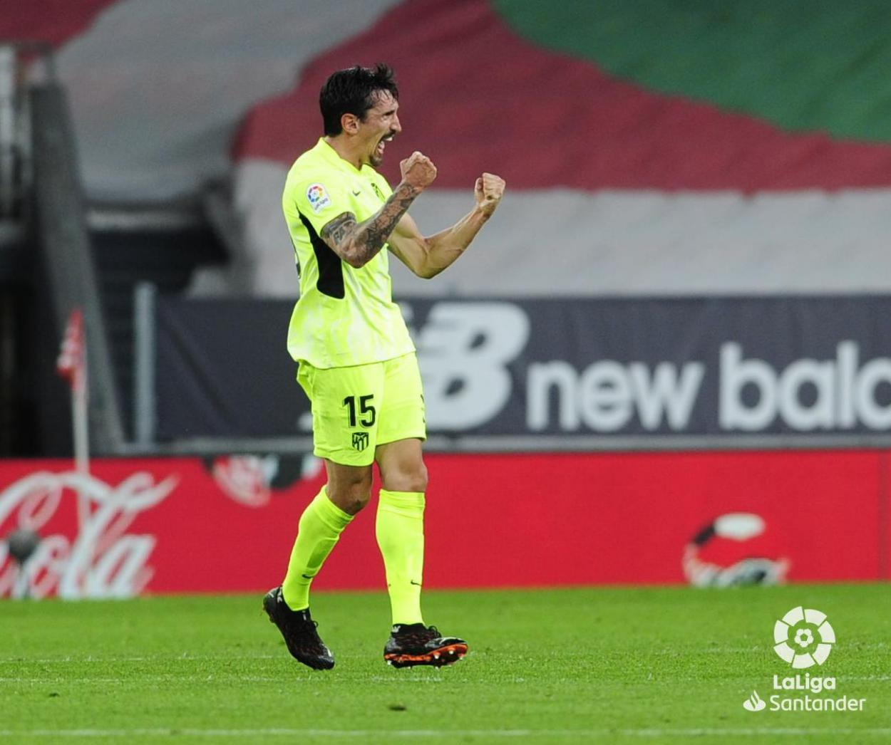 Savić se estrenó como goleador de LaLiga. /Twitter: LaLiga oficial