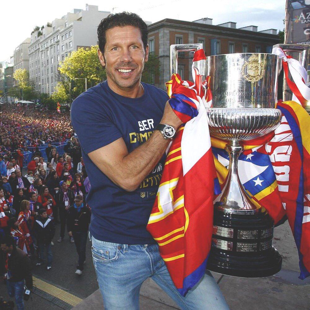 Twitter: Diego Pablo Simeone oficial