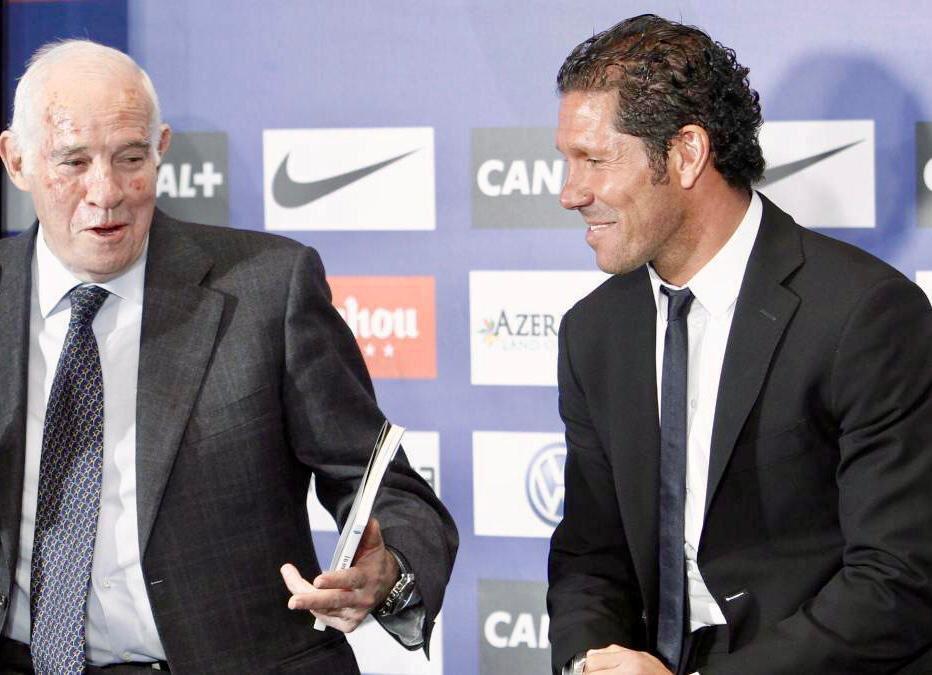 Uno de los días que pasaran a la historia. /Twitter: Diego Pablo Simeone oficial