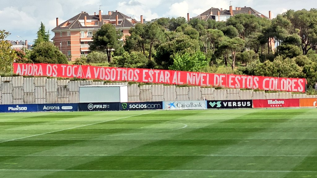 Twitter: Frente Atlético oficial