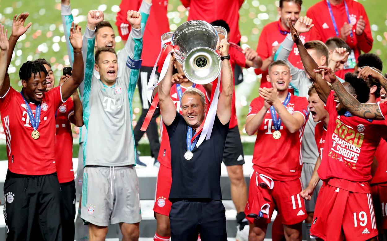 Hans-Dieter Flick, cerebro detrás de la maquinaria bávara. /Twitter: Bayern Múnich oficial