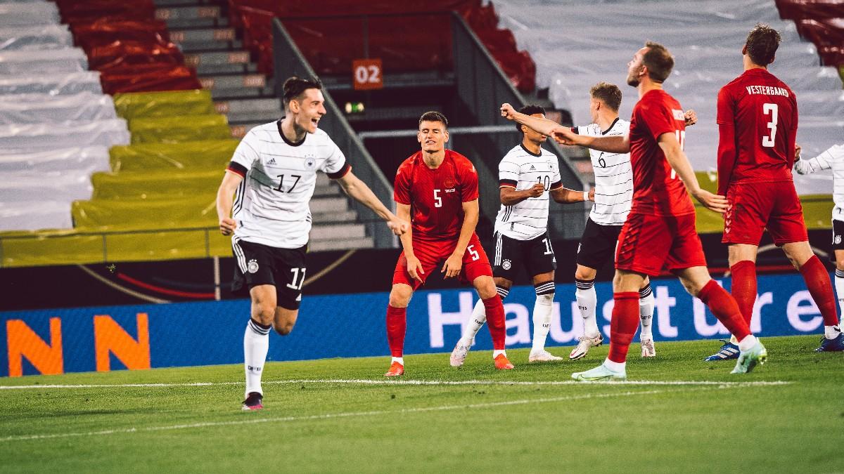 Neuhaus fue el encargado de abrir el marcador. /Twitter: Die Mannschaft oficial