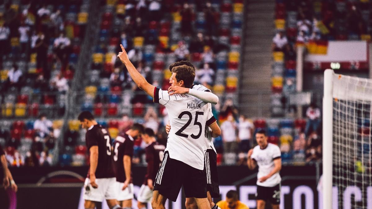 Los amos de la noche. /Twitter: Selección Alemana oficial