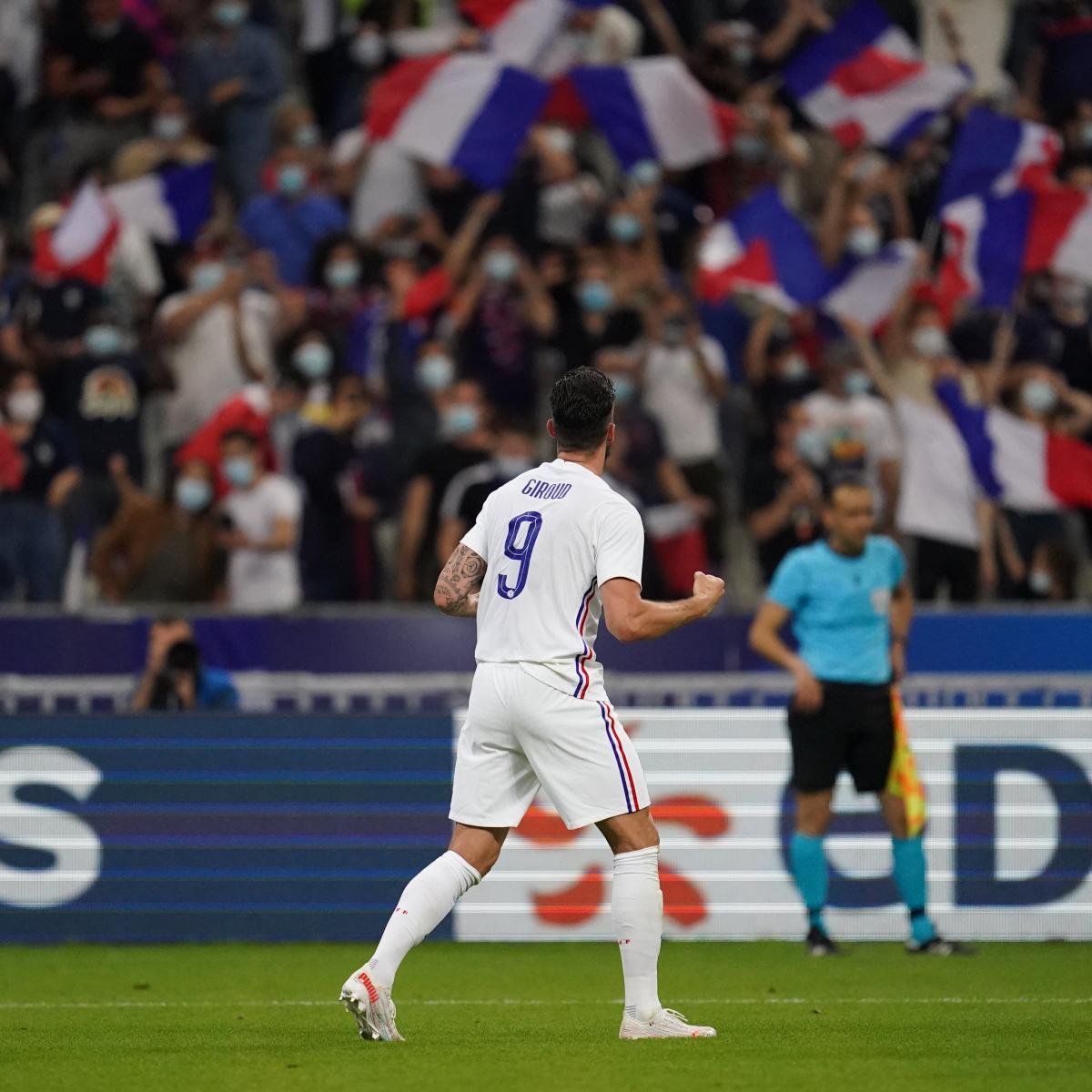 Giroud, segundo máximo goleador de Francia./Twitter: Equipe de France oficial