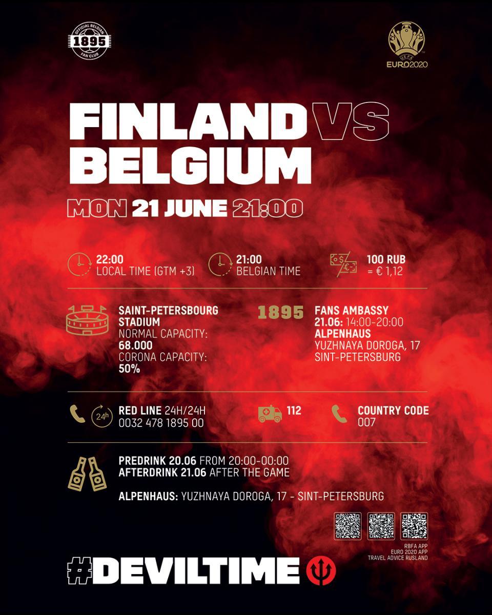 Twitter: Selección Bélgica.