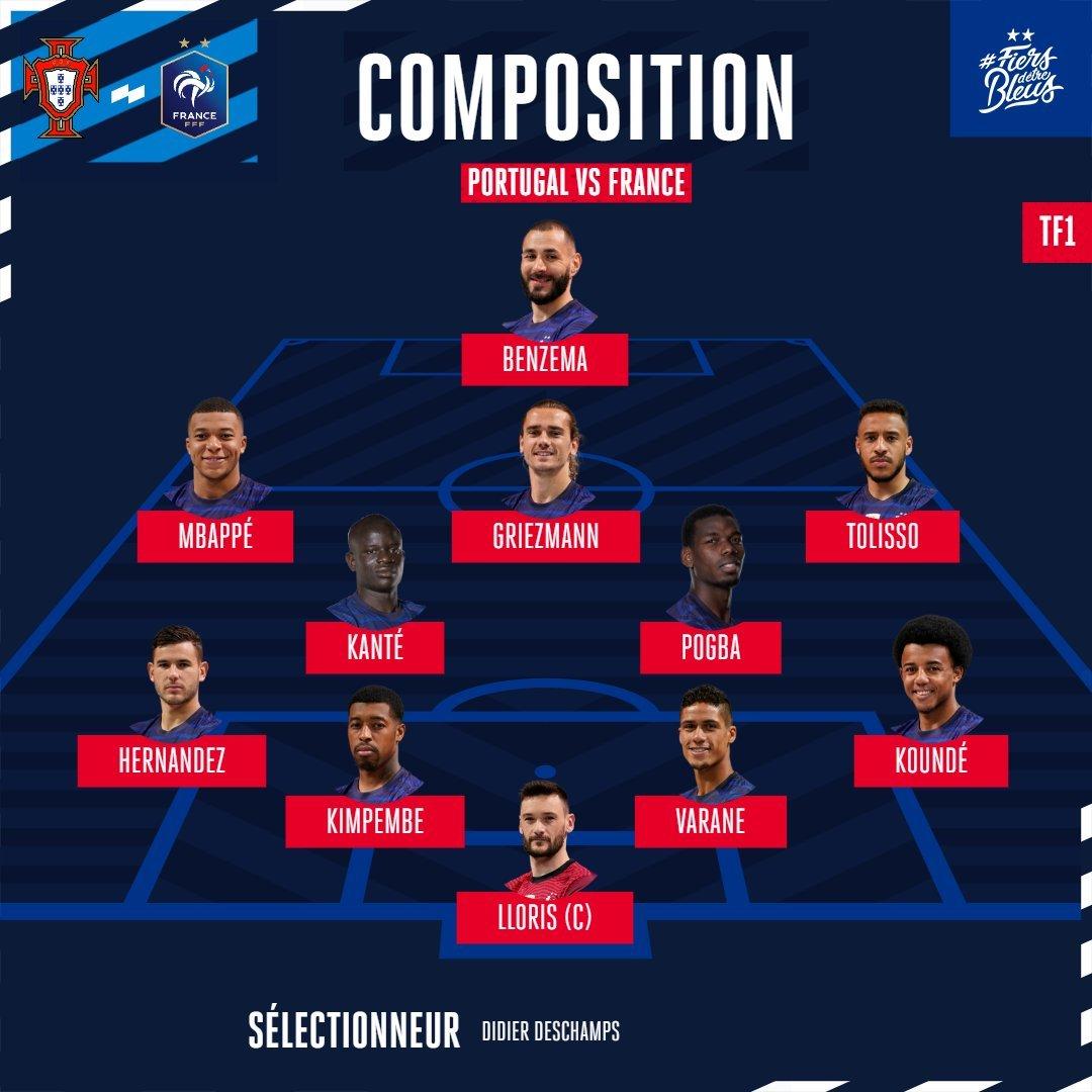 Twitter: Equipe de France oficial