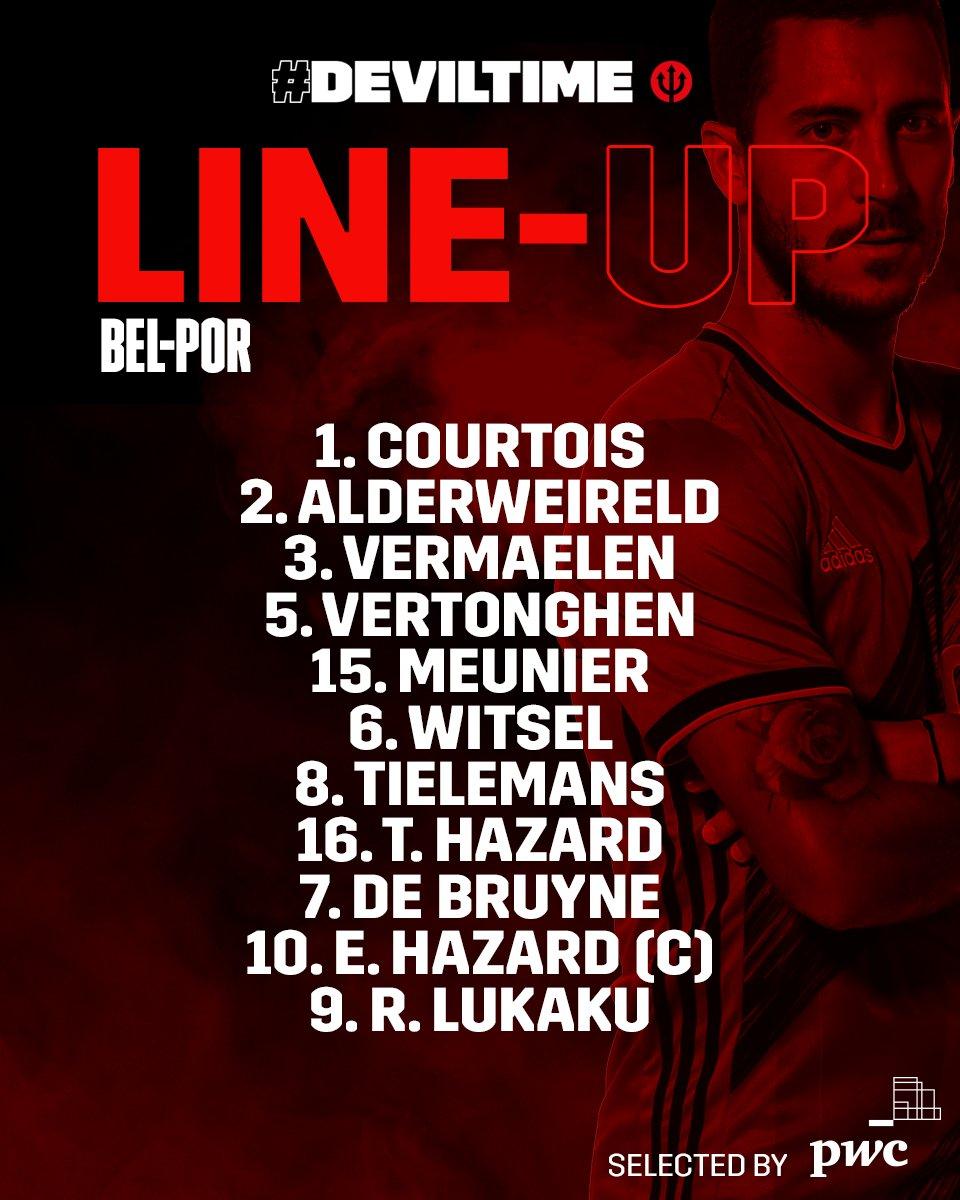 Twitter: Belgian Red Devils oficial