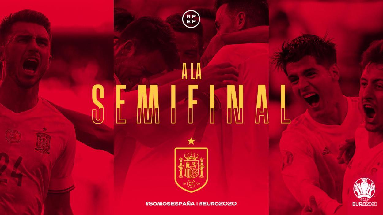Twitter: Selección Española oficial
