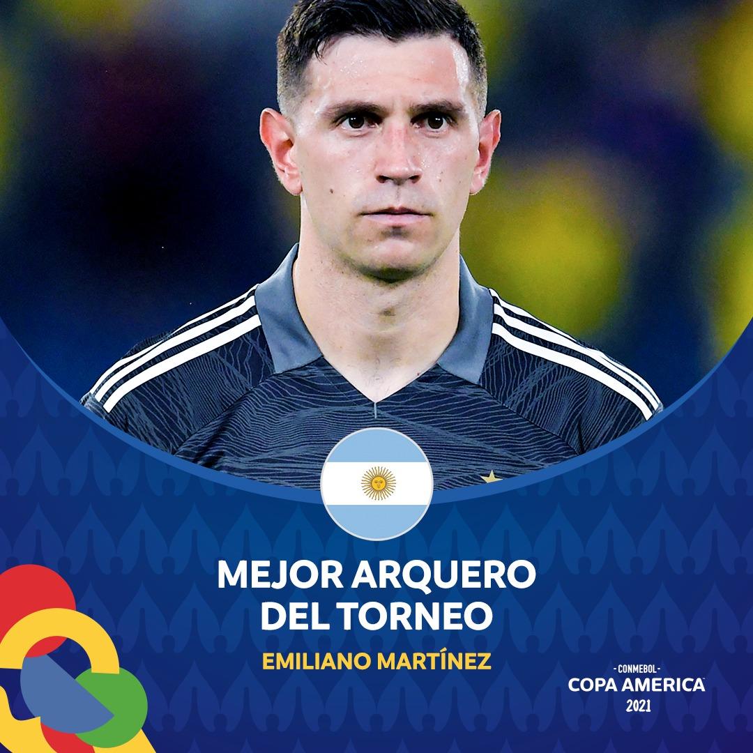 Twitter: Copa América oficial