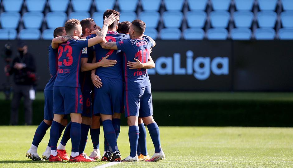 En el último enfrentamiento, el Atlético venció 0-2. / Twitter: Atlético de Madrid oficial