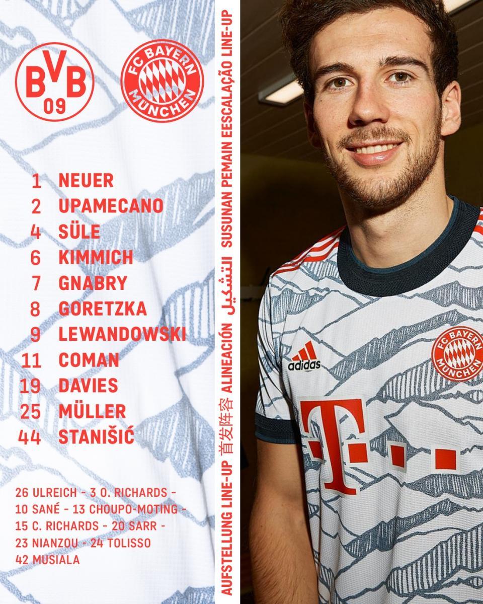 Twitter: Bayern Múnich official