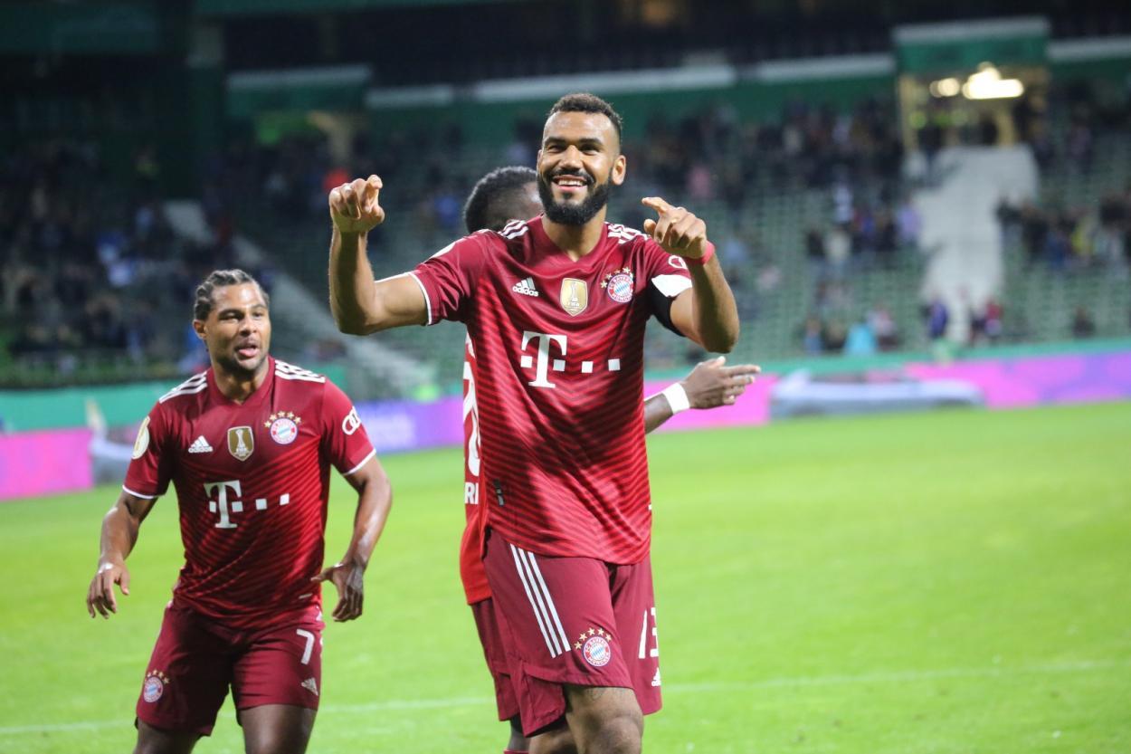 El mejor de la noche, Choupo-Moting. / Twitter: Bayern Múnich oficial