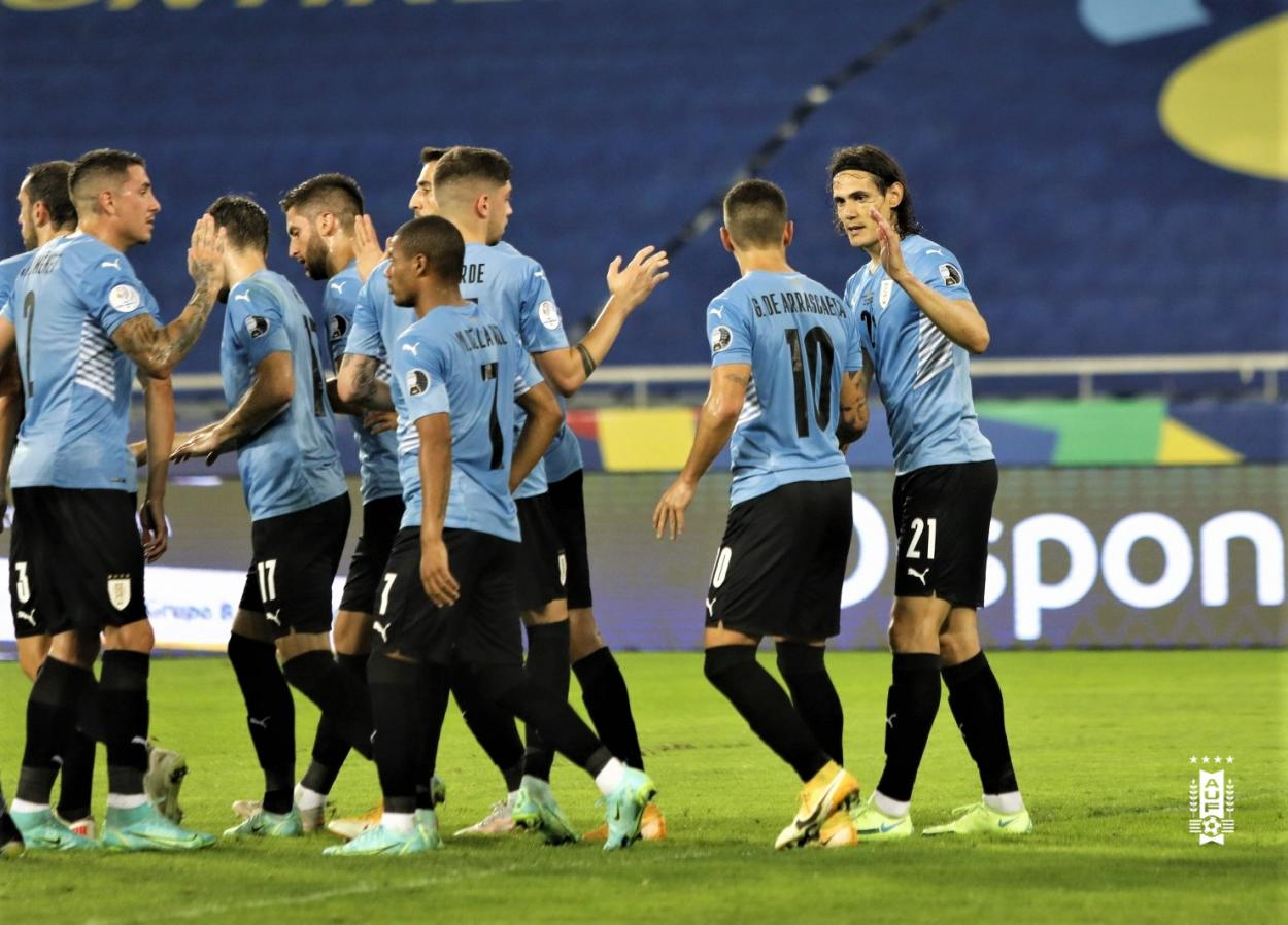 Twitter: Selección Uruguaya oficial