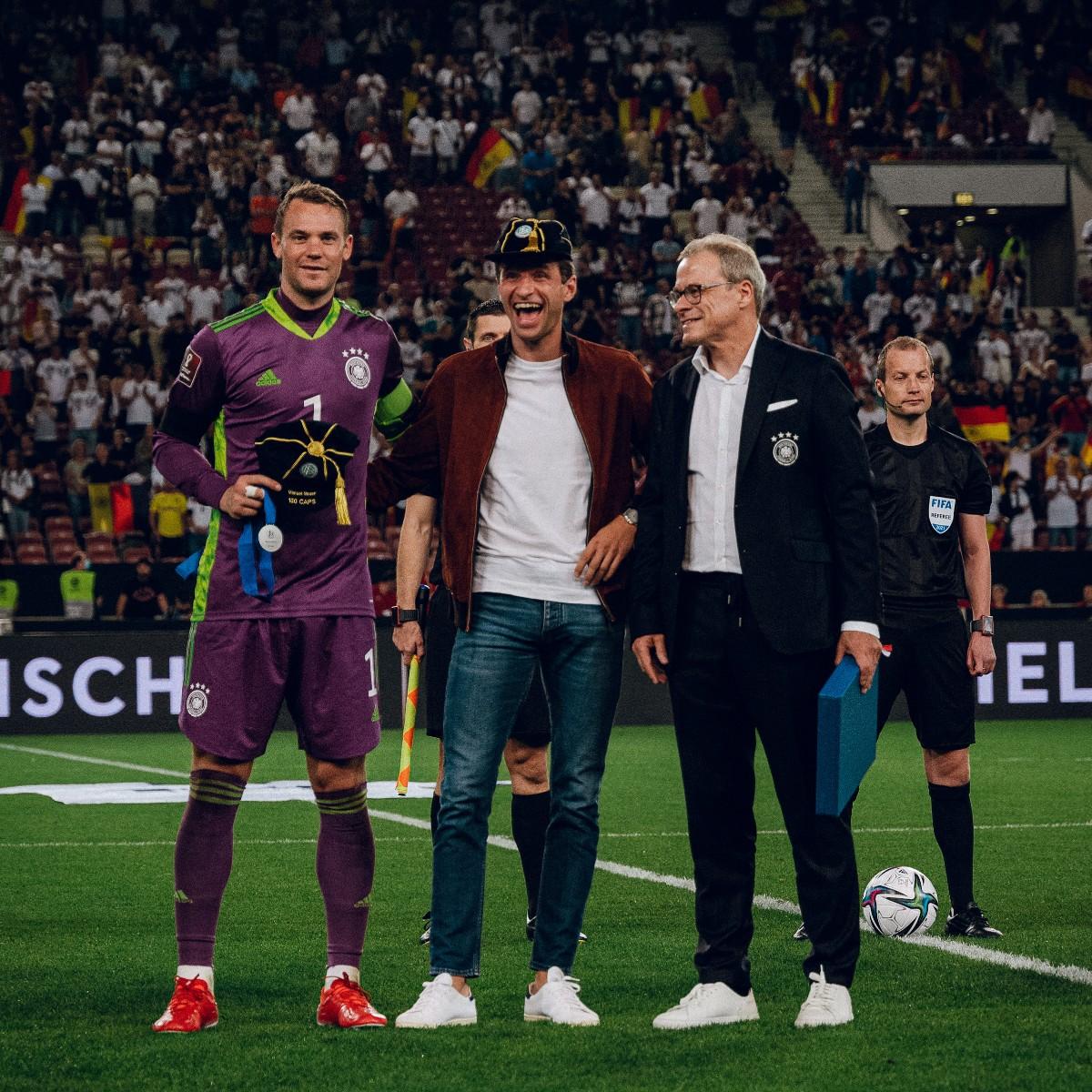 Twitter: Selección Alemana oficial