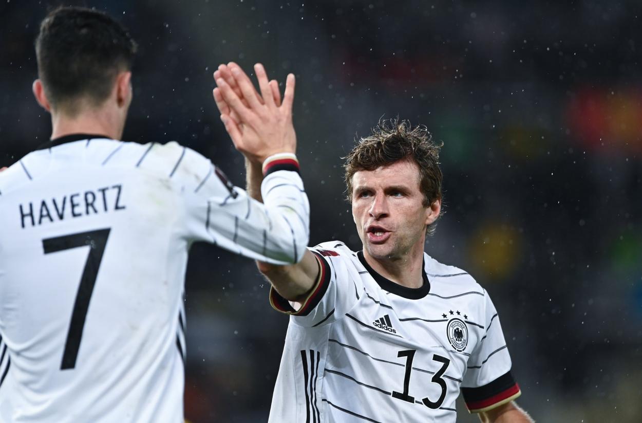 Thomas Müller, el rey de las asistencias. / Twitter: Selección Alemana oficial