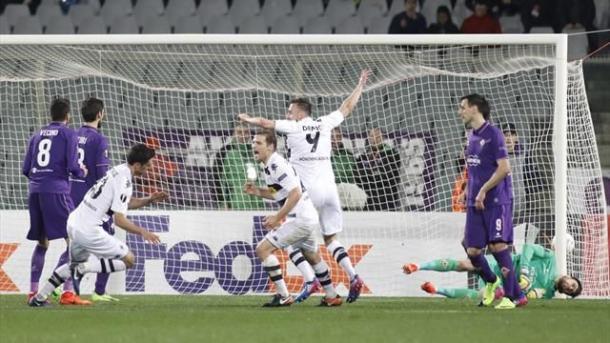 Il Borussia esulta per una delle quattro reti. Fonte: http://i.eurosport.com