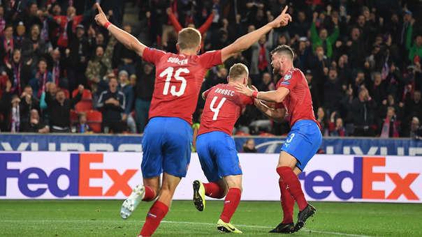 La República Checa buscará dar la campana para pasar a la fase final / FOTO: AFP