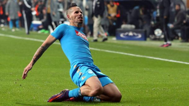 Marek Hamsik, condottiero Partenopeo anche in Champions. Fonte foto: Tuttosport.it