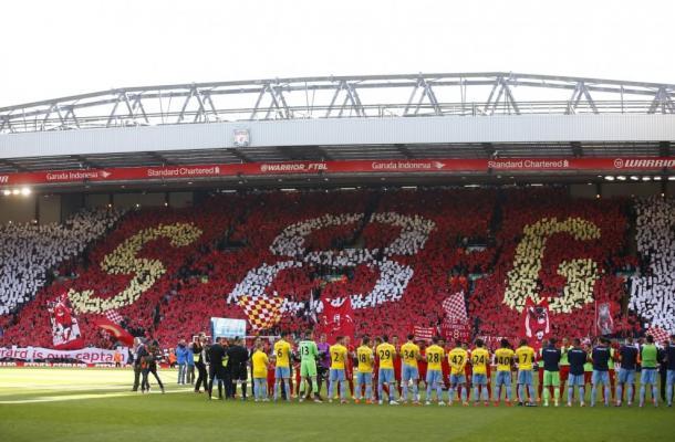 Anfield nel giorno del saluto a Gerrard (fonte: repubblica.it)