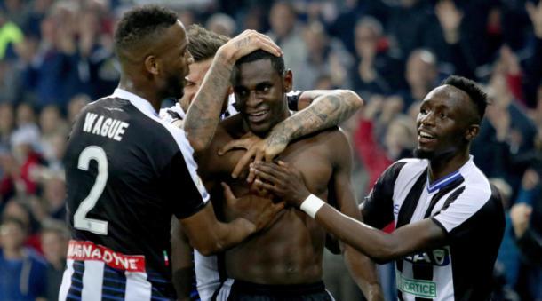 Duvan in gol contro il Toro. Fonte foto: corrieredellosport
