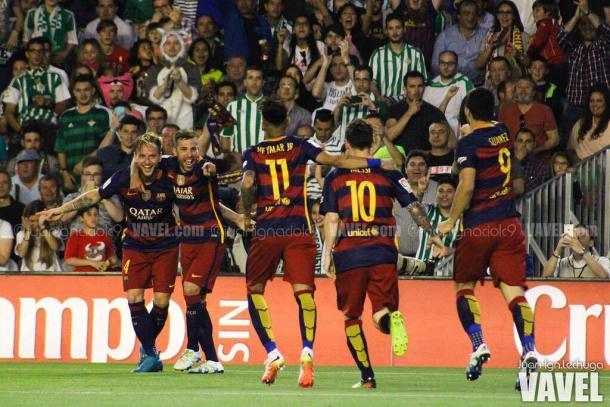 Neymar vivió tiempos muy felices en Can Barça   Foto: Juan I.Lechuga - VAVEL