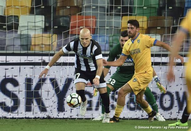 Nuytinck è stato il migliore in difesa. Fonte: https://www.facebook.com/UdineseCalcio1896