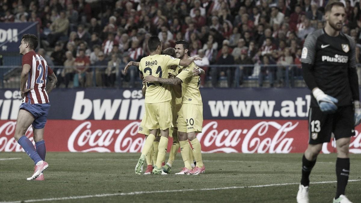 Celebración del gol de Roberto Soriano // Foto: EFE