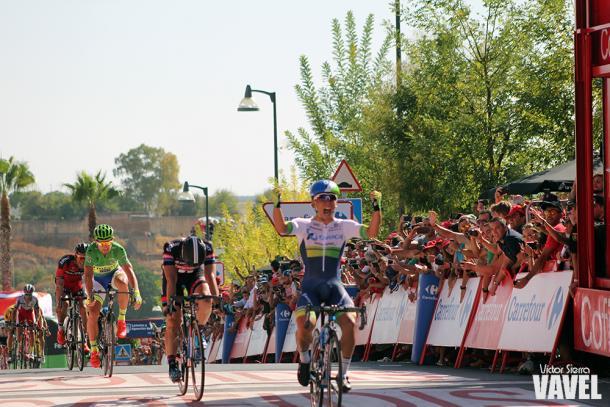 Caleb Ewan venció en la quinta etapa de la Vuelta a España 2015 | Foto: Victor Sierra - VAVEL