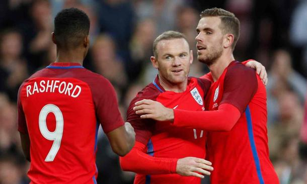 Wayne Rooney doubled England's advantage after the break (Photo: Lee Smith/ Reuters)