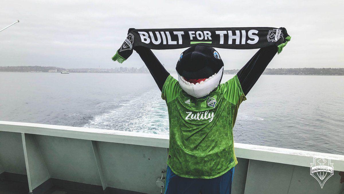 Sammy el día de su llegada a Seattle (@SoundersFC)