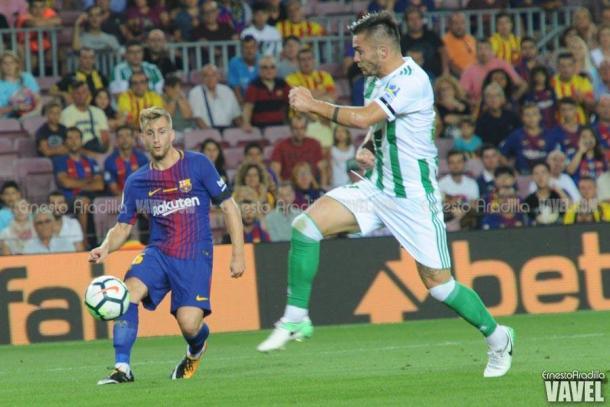 Gerard Deulofeu, protagonista en los dos tanto del Barcelona | Ernesto Aradilla - VAVEL